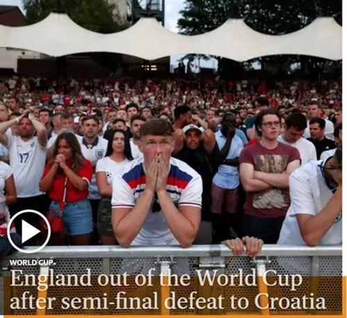 Truyền thông Anh nói gì về thất bại của đội nhà trước Croatia tại bán kết World Cup 2018? - Ảnh 5