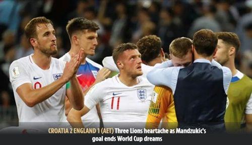 Truyền thông Anh nói gì về thất bại của đội nhà trước Croatia tại bán kết World Cup 2018? - Ảnh 6