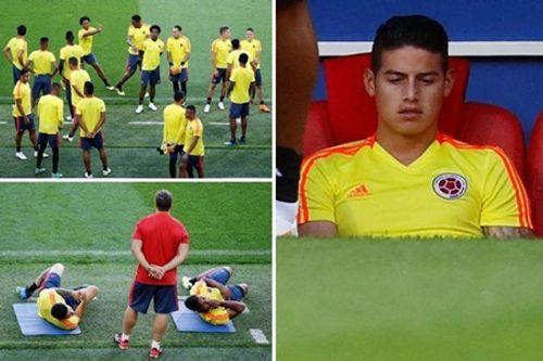 Ngôi sao sáng nhất của Colombia bỏ ngỏ khả năng ra sân trận gặp Anh - Ảnh 1