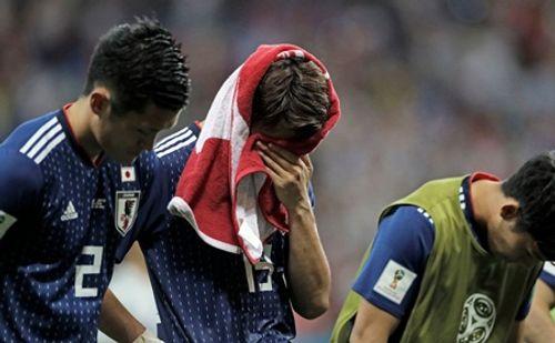 """World Cup 2018: HLV Nhật Bản gọi trận thua là """"thảm kịch"""", các cầu thủ """"chết lặng"""" - Ảnh 3"""