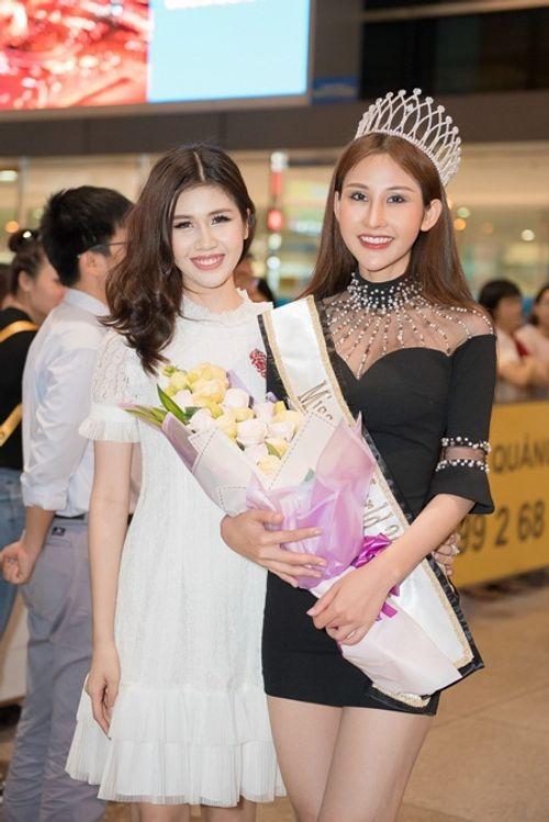 Hoa hậu Chi Nguyễn về nước sau khi đăng quang Miss Asia World 2018 - Ảnh 6