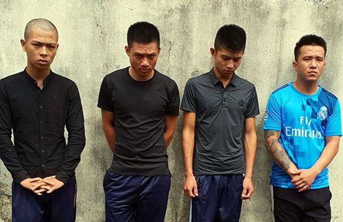 Tạm giữ nhóm thanh niên bắt cóc con để buộc mẹ trả nợ vay nặng lãi - Ảnh 1