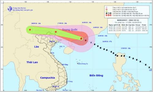 Tin tức mới nhất về siêu bão Mangkhut: Cảnh báo mưa lớn, lũ quét ở Việt Nam - Ảnh 1