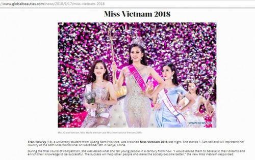 Hoa hậu Tiểu Vy được báo nước ngoài khen ngợi, chuyên trang sắc đẹp đánh giá cao - Ảnh 2