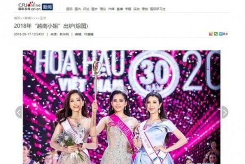 Hoa hậu Tiểu Vy được báo nước ngoài khen ngợi, chuyên trang sắc đẹp đánh giá cao - Ảnh 3