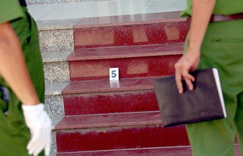 Vụ cướp ngân hàng ở Khánh Hòa: Nhân chứng kể lại phút đối mặt tên cướp - Ảnh 1