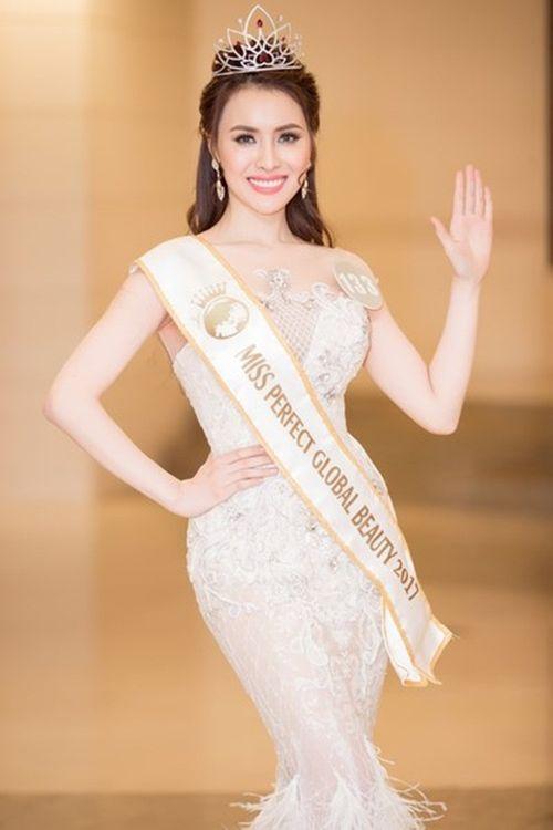 Thư Dung bị tước danh hiệu cuối cùng - Hoa hậu sắc đẹp hoàn mỹ toàn cầu 2017 - Ảnh 2