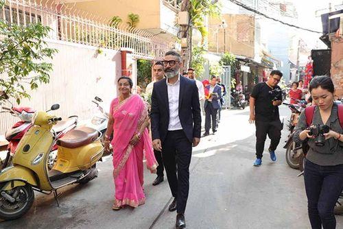 Võ Hạ Trâm xinh đẹp rạng ngời trong hôn lễ với doanh nhân Ấn Độ - Ảnh 3