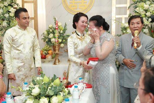 Võ Hạ Trâm xinh đẹp rạng ngời trong hôn lễ với doanh nhân Ấn Độ - Ảnh 6