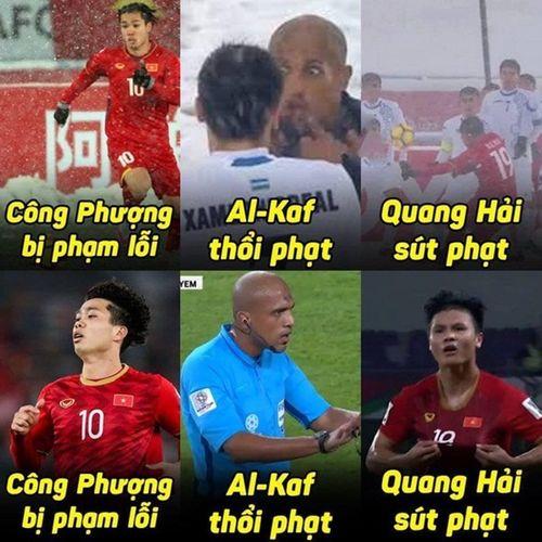 """Ảnh chế Asian Cup: Trọng tài người Oman và """"Song Hải"""" chiếm sóng - Ảnh 1"""