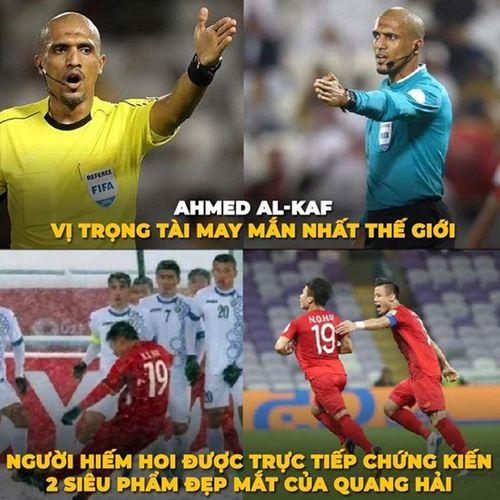 """Ảnh chế Asian Cup: Trọng tài người Oman và """"Song Hải"""" chiếm sóng - Ảnh 3"""