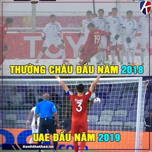 """Ảnh chế Asian Cup: Trọng tài người Oman và """"Song Hải"""" chiếm sóng - Ảnh 9"""