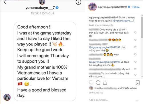 Asian Cup 2019: Cựu tuyển thủ Pháp đặc biệt nhắn tin chúc mừng Quang Hải - Ảnh 1