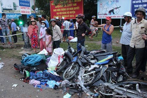 Vụ tai nạn ở Long An: Nạn nhân được bảo hiểm bồi thường - Ảnh 1