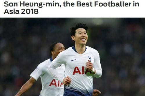 Điều gì khiến Son Heung-min là Cầu thủ xuất sắc nhất châu Á 2018? - Ảnh 1