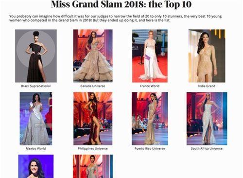 """H'Hen Niê lọt top 10 """"Hoa hậu của các hoa hậu"""" do Global Beauties bình chọn - Ảnh 1"""