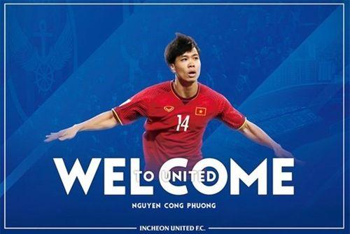 Incheon Utd tiết lộ số áo chính thức của Công Phượng - Ảnh 1