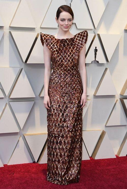 Thảm đỏ Oscar 2019: Dàn sao nữ lộng lẫy gợi cảm vẫn phải lu mờ trước 1 người - Ảnh 10