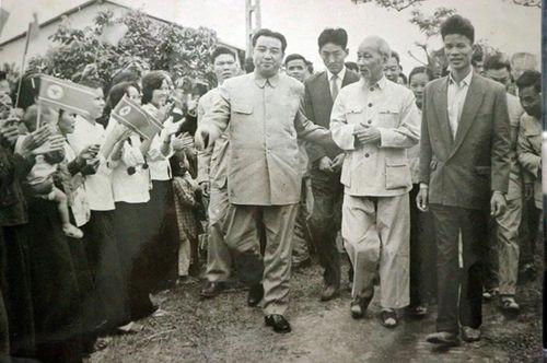 Hai chuyến thăm lịch sử của cố Chủ tịch Triều Tiên Kim Nhật Thành tại Việt Nam - Ảnh 1