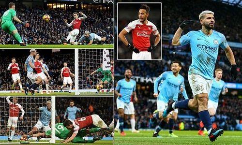 Kết quả bóng đá châu Âu: Man City đè bẹp Arsenal, Real tưng bừng trước Siêu kinh điển - Ảnh 1