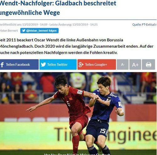 Đoàn Văn Hậu được CLB Đức Borussia Monchengladbach hỏi mua - Ảnh 1