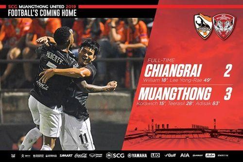 Để thủng lưới 2 bàn, Văn Lâm vẫn để lại dấu ấn trong trận thắng thứ 2 của Muangthong - Ảnh 2