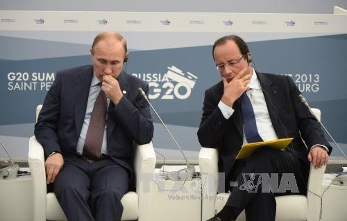 Ông Putin chính thức hủy chuyến thăm Pháp - Ảnh 1