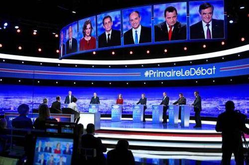 Bầu cử Pháp: Bảy ứng viên cánh hữu tranh luận trên truyền hình - Ảnh 2