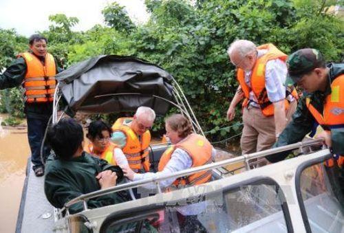 Thông tin mới nhất về thiệt hại của ngành đường sắt do mưa lũ - Ảnh 1