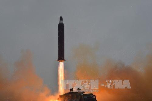 Tên lửa Triều Tiên phát nổ ngay sau khi phóng - Ảnh 1