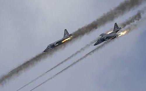 Chiến đấu cơ Nga và Syria ngừng không kích khủng bố ở Aleppo - Ảnh 1