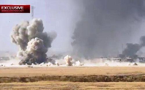 Xe bom IS liều chết đâm xe tăng Iraq, ít nhất 70 lính thiệt mạng - Ảnh 1