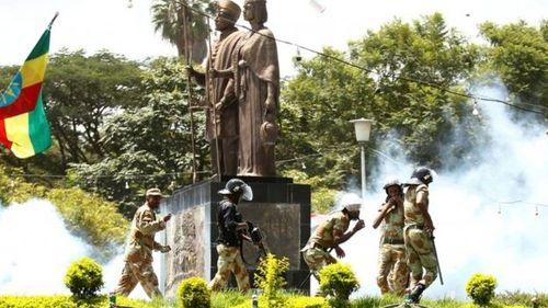 Hơn 50 người thiệt mạng vì bị giẫm đạp ở Ethiopia - Ảnh 1