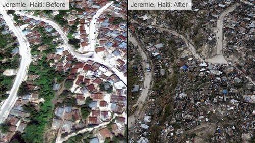 Ít nhất 820 người thiệt mạng ở Haiti vì bão 'quái vật' - Ảnh 1