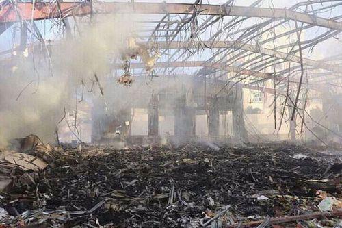 Không kích nhà tang lễ ở Yemen, 140 người thiệt mạng - Ảnh 1