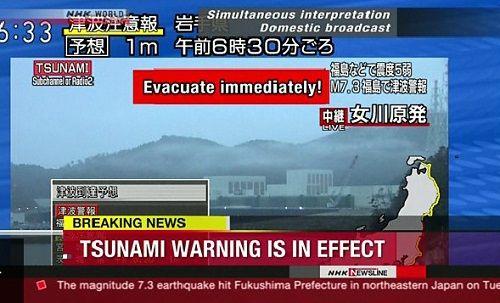 Nhật Bản: Sóng thần ập vào sau động đất 7,3 độ Richter - Ảnh 2