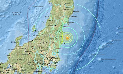 Nhật Bản: Sóng thần ập vào sau động đất 7,3 độ Richter - Ảnh 1