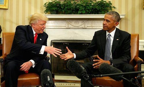Donald Trump: Tôi rất quý mến Tổng thống Obama - Ảnh 1