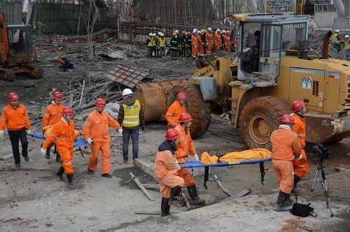 Số người thiệt mạng trong vụ sập nhà máy điện Trung Quốc tăng lên 74 - Ảnh 1