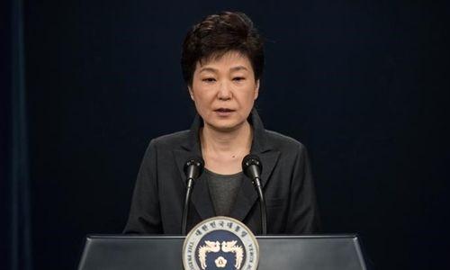 Tổng thống Hàn Quốc xin từ chức sớm - Ảnh 1