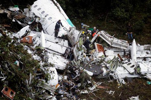 72 người thiệt mạng trong vụ tại nạn máy bay ở Colombia - Ảnh 1