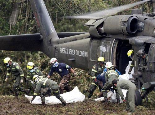 Phi công thông báo máy bay hết nhiên liệu trước khi rơi ở Colombia - Ảnh 1