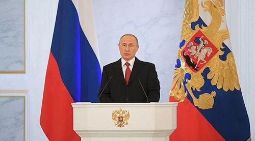 Ông Putin đọc Thông điệp Liên bang, nhấn mạnh đoàn kết - Ảnh 1