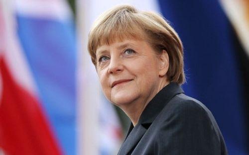 Thủ tướng Đức Angela Merkel tái đắc cử Chủ tịch CDU - Ảnh 1
