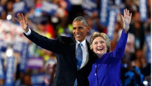 Tổng thống Obama tiếp sức cho bà Clinton trước giờ G - Ảnh 1