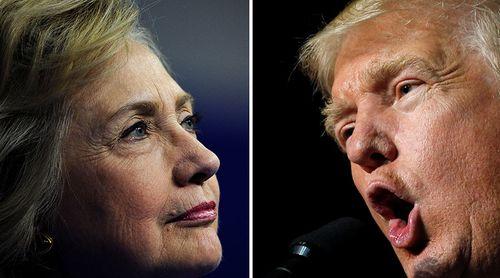 Hillary Clinton và Donald Trump bắt đầu tranh luận trực tiếp - Ảnh 11