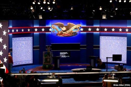 Hillary Clinton và Donald Trump bắt đầu tranh luận trực tiếp - Ảnh 9