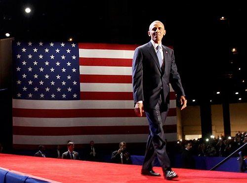 Tổng thống Barack Obama rơi nước mắt khi phát biểu chia tay Nhà Trắng - Ảnh 5