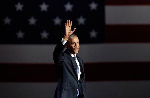 Tổng thống Barack Obama rơi nước mắt khi phát biểu chia tay Nhà Trắng - Ảnh 1