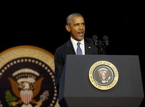 Tổng thống Barack Obama rơi nước mắt khi phát biểu chia tay Nhà Trắng - Ảnh 4